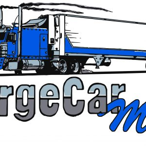 LargeCarMag Blue Sticker