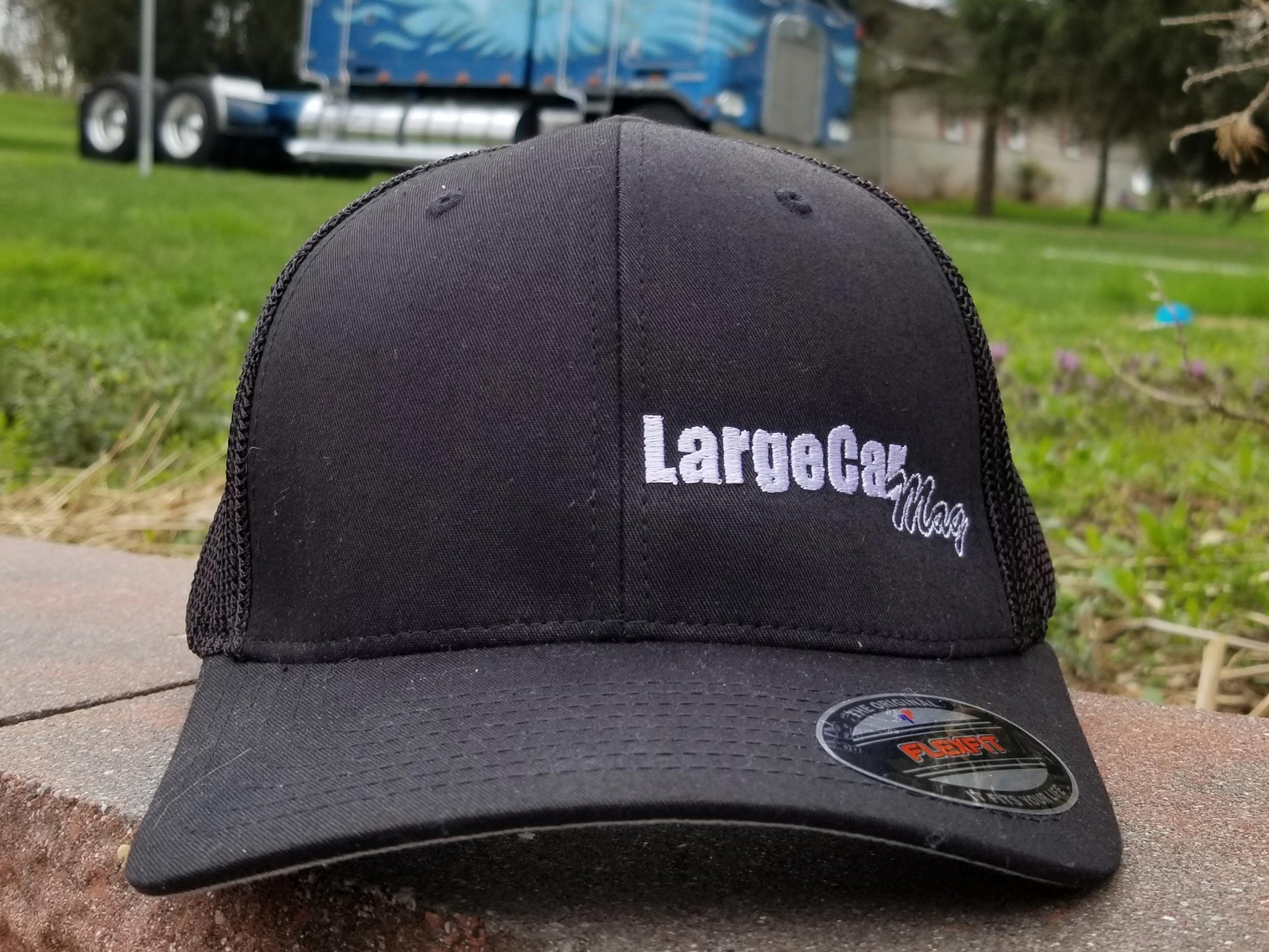 Black Flexfit Hat (Model 6511 - Mesh)